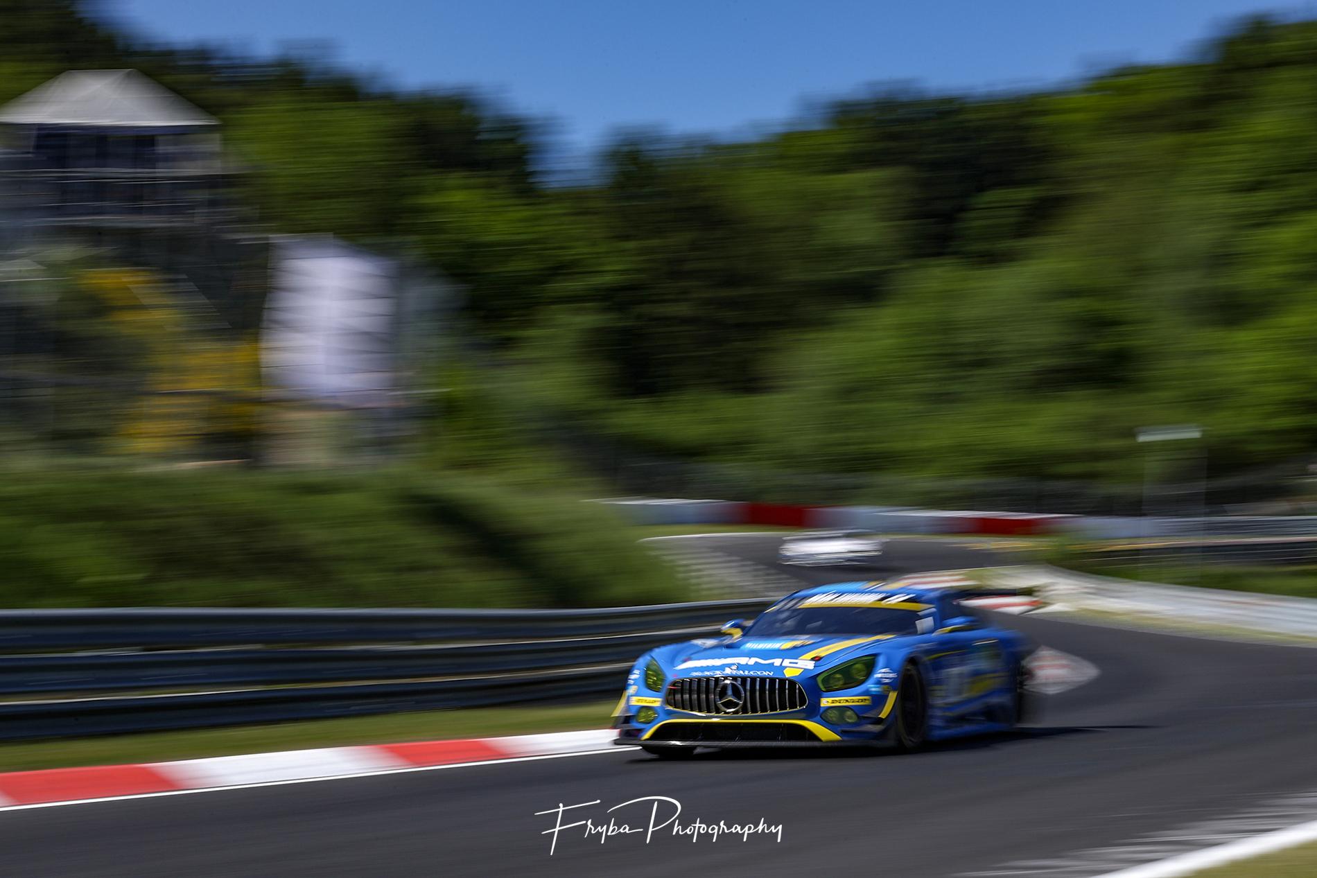 24h Nurburgring 2017 Mercedes AMG GT3