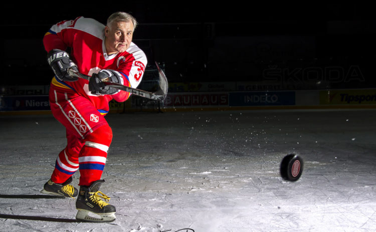 Ice hockey legend Hajdusek