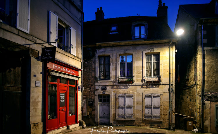 Nevers in the night