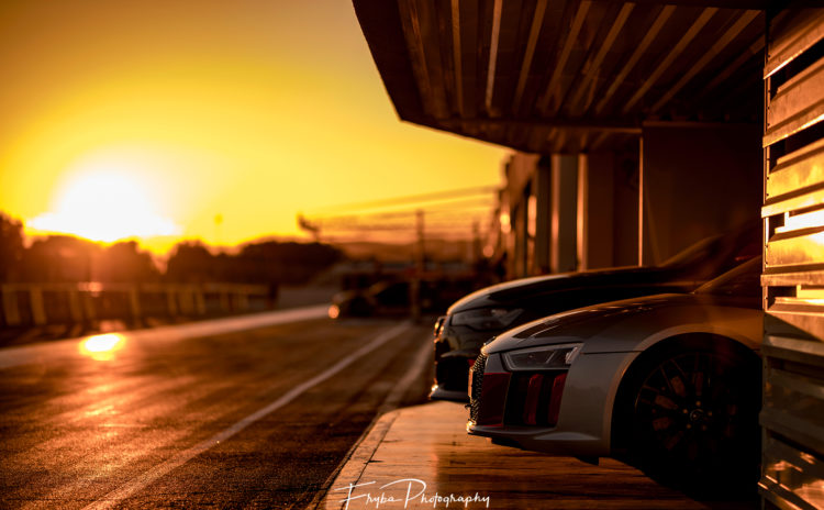 Paul Ricard Sunset Audi R Petr Frýba - Sunset audi