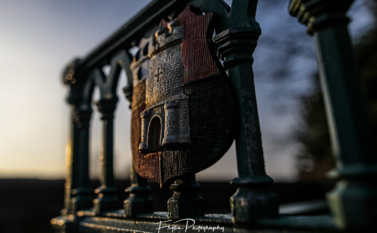 Worcester historic bench